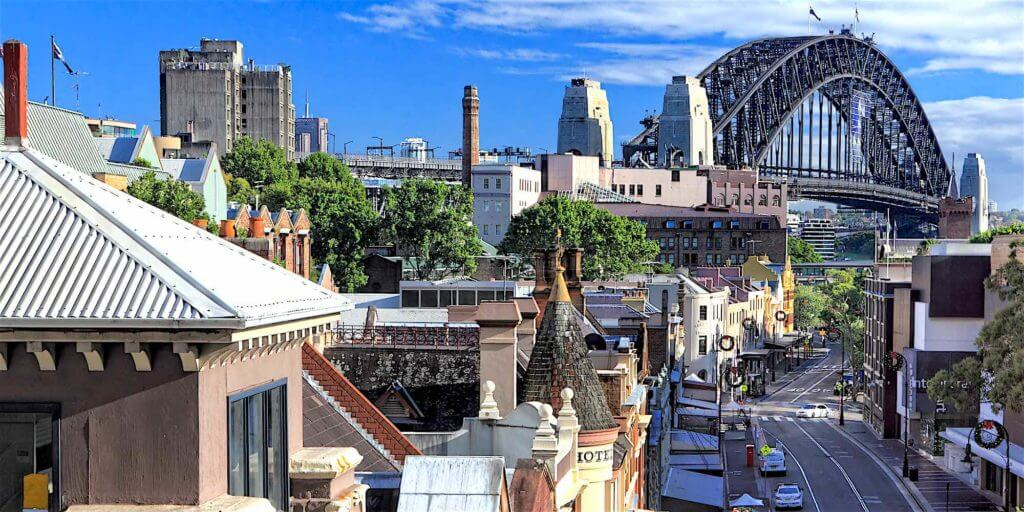 The Rocks Sydney Australia