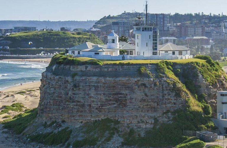 Newcastle Header - Nobbys Lighthouse